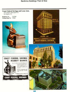 Coast Federal Savings & Loan, Assn. Banthrico Bank Data Sheet.  Pg. 1 of 3 Pages.