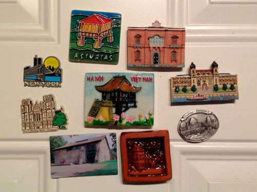 Refrigerator Magnets from Pat Smith
