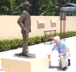 Paying homage to Frank Lloyd Wright. Florida Southern College