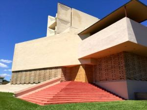 Annie Pfeiffer Chapel, Florida Southern College, Frank Lloyd Wright architect