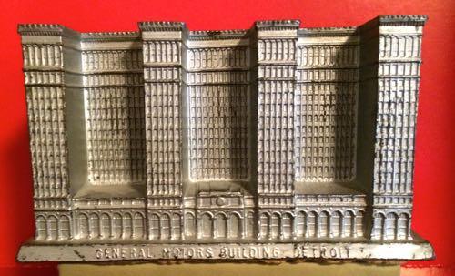 Photo of miniature General Motors Building