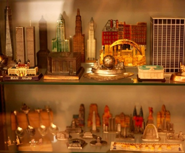 Community Collections: A Sampling of Souvenir Buildings.  View at the City Reliquary Museum.  Exhibit closes in September 2015.