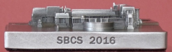 2016 SBCS Convention Commemorative. Hollyhock House. Mfg. InFocus Tech.