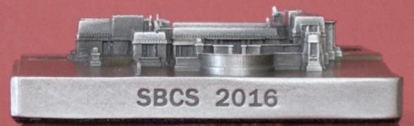2016 SBCS Convention Commemorative. Hollyhock House. Mfg. InFocus Tech.