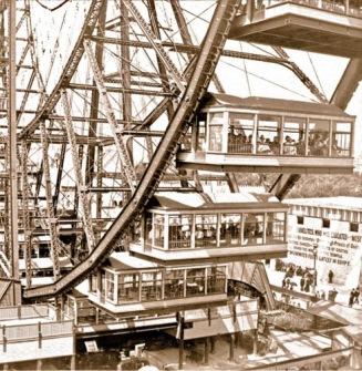Great Wheel, George Ferris, 1893, Chicago