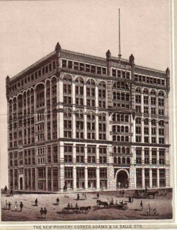 The Rookery - Burnham & Root 1888, LaSalle & Adams St. Chicago