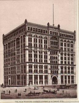 The Rookery - Burnham & Root 1888, LaSalle & Adams St. Chicago