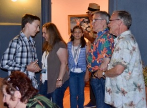 Souvenir Building Collectors at the annual Meet and Greet Mixer in 2016
