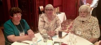 Banquet. Carol Detweiler, Carolyn Curtis, Bob Curtis