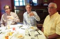 Banquet. Steve, Jay, Jimmy.