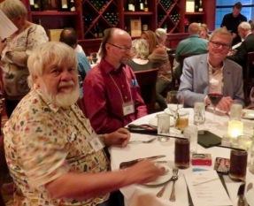 Banquet. Bob, Wynn, Simon.